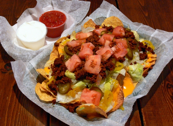 Nachos from Jigger's Pub