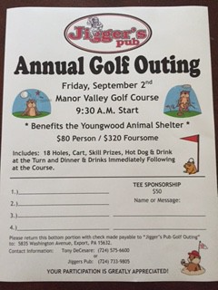 Jigger's Pub Annual Golf Outing